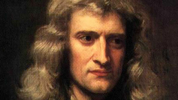 isaac newton biography in english