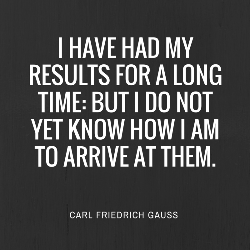 Image of: Success Quote By Carl Friedrich Gauss Ndtvcom Math Quotes Famous Quotations By Mathematicians