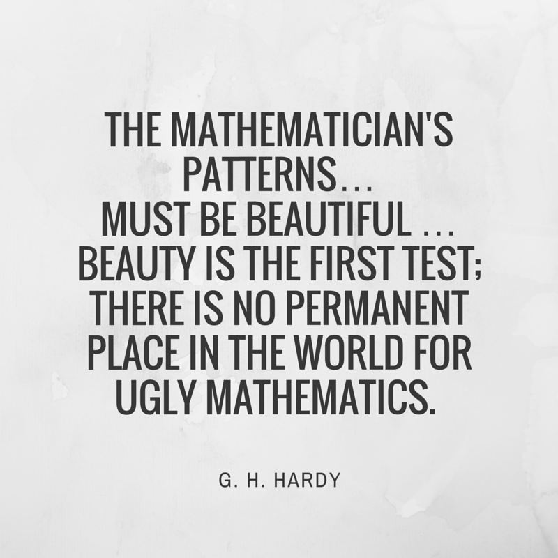 Quote by G.H. Hardy